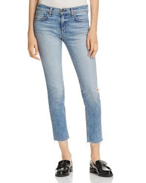 Dre Distressed Slim Boyfriend Jeans, Alphaville