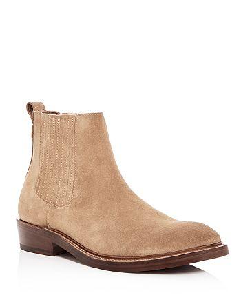 COACH - Men's Suede Chelsea Boots