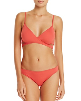 VINCE CAMUTO - Wrap Bikini Top