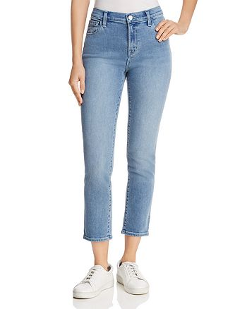 J Brand - Ruby High-Rise Cropped Jeans in Utopia