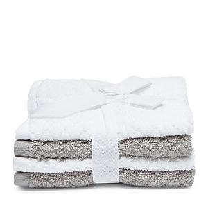 Caro Home Phoebe Washcloths Set of 4  100 Exclusive