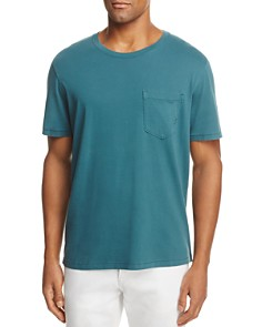 Billy Reid Washed Cotton Pocket Tee - Bloomingdale's_0