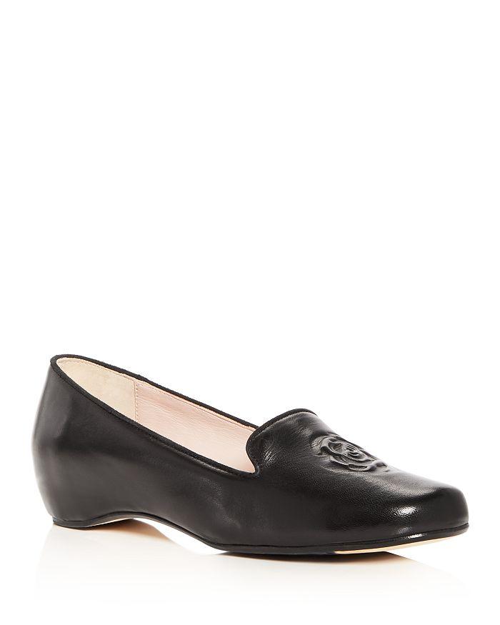 64737433b12d Taryn Rose - Women s Belissa Leather Hidden Wedge Loafers