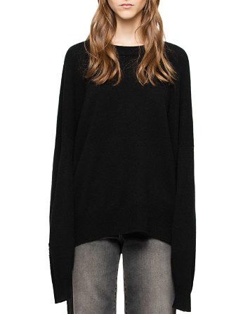 $Zadig & Voltaire Rony Wool & Cashmere Embellished Sweater - Bloomingdale's