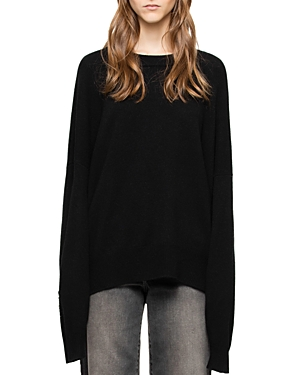 Zadig & Voltaire Rony Wool & Cashmere Embellished Sweater