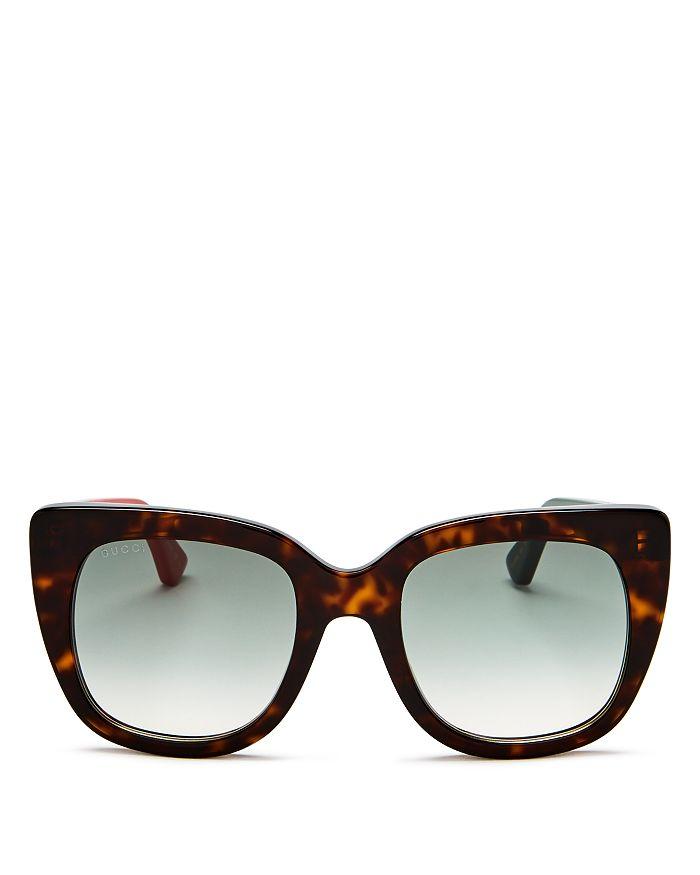 Gucci - Women's Oversized Square Sunglasses, 51mm