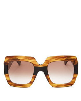 Gucci - Women's Oversized Square Sunglasses, 54mm