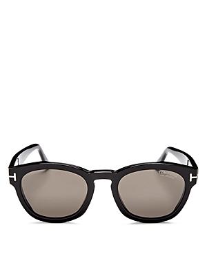 Tom Ford Bryan Polarized Round Sunglasses, 50mm