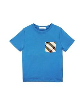 Burberry - Boys' Check Pocket Tee - Little Kid, Big Kid