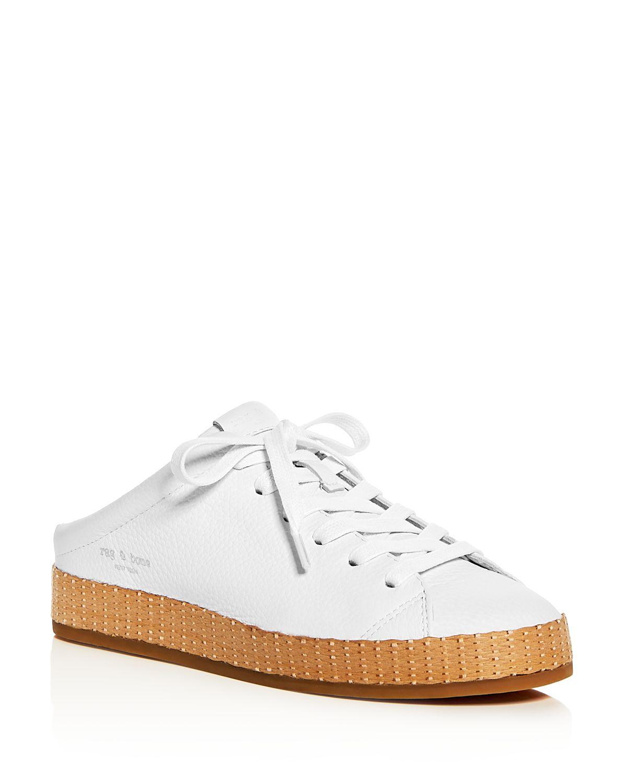 RAG&BONE Women's Leather Platform Mule Sneakers