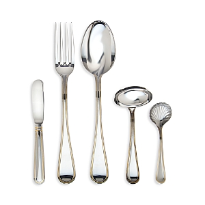 Ricci Argentieri Ascot Goldplate 5-Piece Hostess Set
