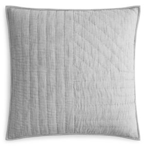 Oake Chambray Pleated Quilted Euro Sham - 100% Exclusive