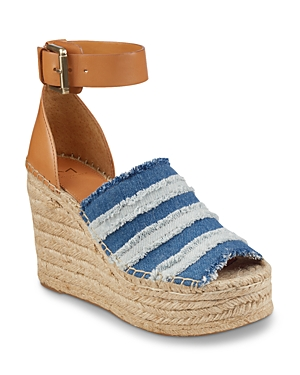 Marc Fisher Ltd. Women's Adria Espadrille Platform Wedge Sandals