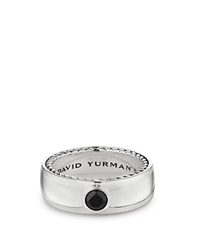 David Yurman - Streamline® Band Ring with Black Diamonds