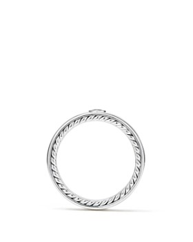David Yurman - Streamline Band Ring with Black Diamonds