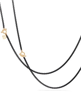 3e18d5e61 David Yurman - DY Bel Aire Chain Necklace with 14K Gold Accents ...