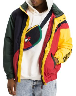 Tommy Hilfiger Tommy Jeans 90's Color-Blocked Hooded Sailing Jacket 2753756