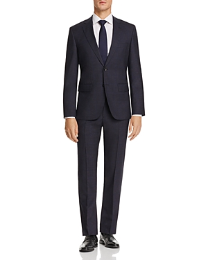 Boss Johnstons/Lenon Regular Fit Windowpane Suit - 100% Exclusive