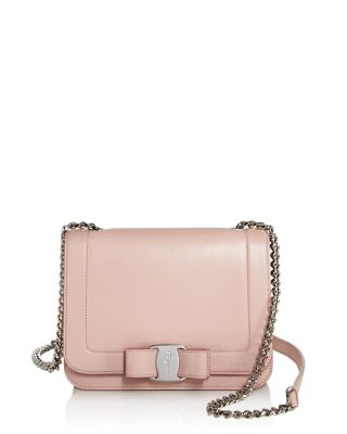 Vara Leather Crossbody Bag - Pink, Bon Bon/ Hyacinth/ Begonia