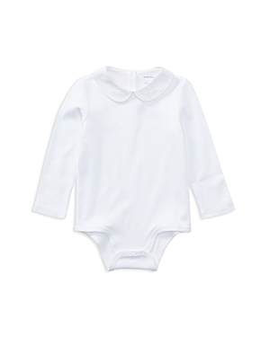 Ralph Lauren Childrenswear Girls Embroidered Bodysuit  Baby