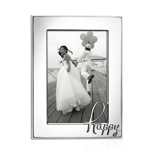 kate spade new york In a Word Happy Frame, 4\