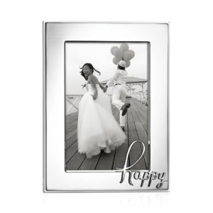 kate spade new york In a Word Happy Frame, 4 x 6