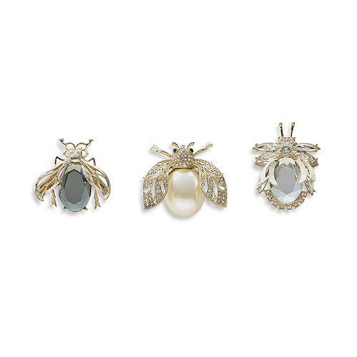 Joanna Buchanan - Sparkle Decorative Clips, Set of 3