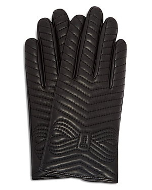 Ted Baker Lucilu Quilted Bow Gloves