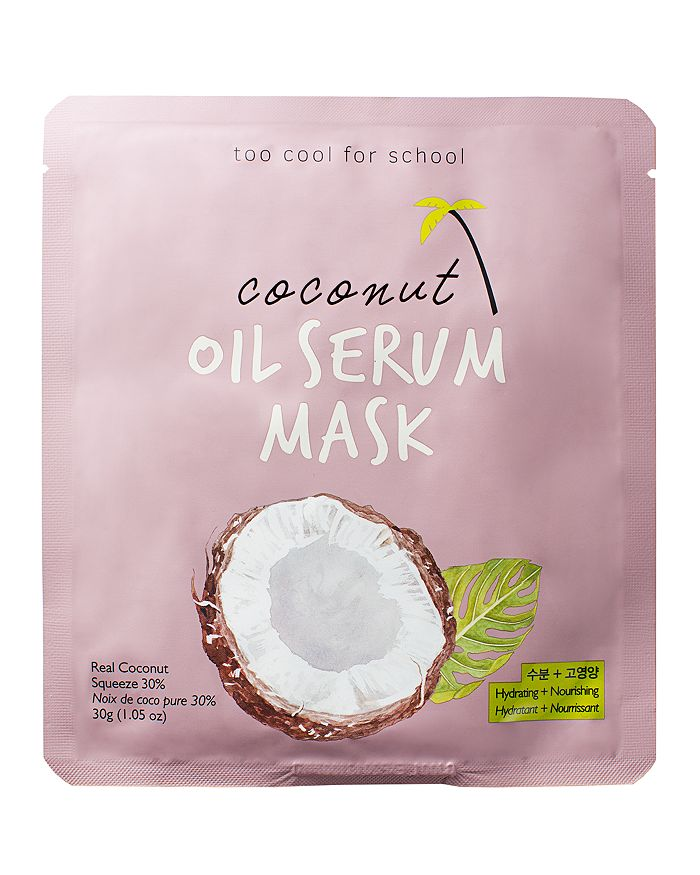 Too Cool For School - Coconut Oil Serum Mask