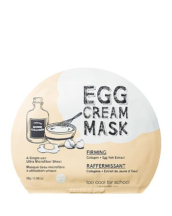 Too Cool For School - Egg Cream Mask Firming  0.98 oz.