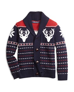 Brooks Brothers Boys' Fair Isle Cardigan - Big Kid - Bloomingdale's_0