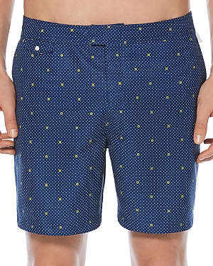Original Penguin Polka Dot Lemon Swim Trunks