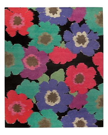 "Tufenkian Artisan Carpets - Posies Floral Collection Area Rug, 8'9"" x 11'6"""
