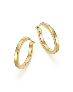 Bloomingdale S 14k Yellow Gold Square Hoop Earrings 100 Exclusive