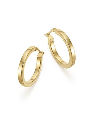 Bloomingdale's 14K Yellow Gold Square Tube Hoop Earrings - 100% Exclusive