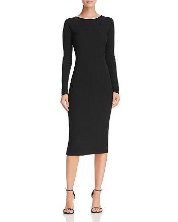 Donna Karan - V-Back Sheath Dress