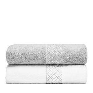 Matouk Rovella Wash Cloth  100 Exclusive