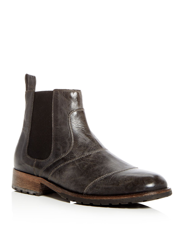 Belstaff Men's Lancaster Leather Chelsea Boots