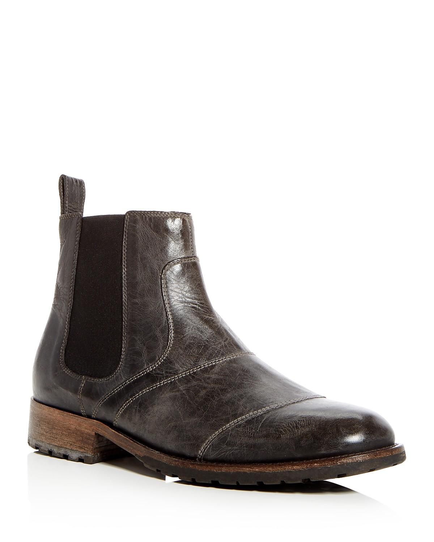 Belstaff Men's Lancaster Leather Chelsea Boots ElJpBlki