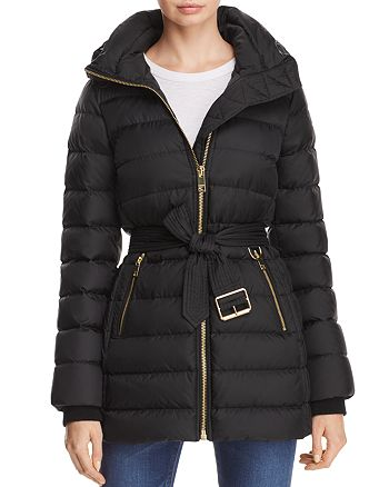 Burberry - Limefield Belted Down Puffer Coat