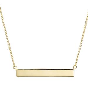 Aqua Sterling Silver Pendant Necklace, 14 - 100% Exclusive