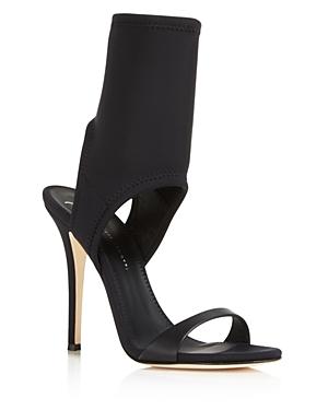 Giuseppe Zanotti Women's Carlito Stretch Neoprene Sock Sandals
