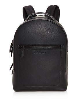 Salvatore Ferragamo - Firenze Pebbled Leather Backpack