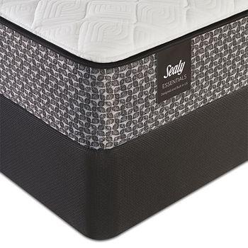 Sealy Posturepedic - Sealy Essentials Garden Street Firm King Mattress & Box Spring Set - 100% Exclusive