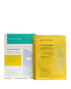 PATCHOLOGY Illuminate Flashmasque 5-Minute Facial Sheets 4-Pack