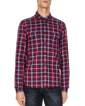 The Kooples Tunch Checks Classic Fit Button-Down Shirt
