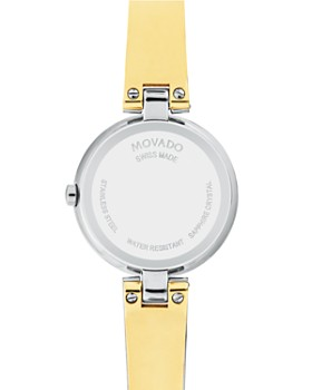Movado - Aleena Two-Tone Watch, 27mm