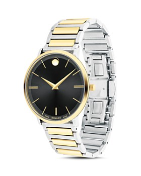 Movado - Ultra Slim Two-Tone Watch, 40mm