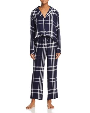 Rails Plaid Long Pajama Set