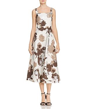 Lafayette 148 New York Arlene Floral Midi Dress
